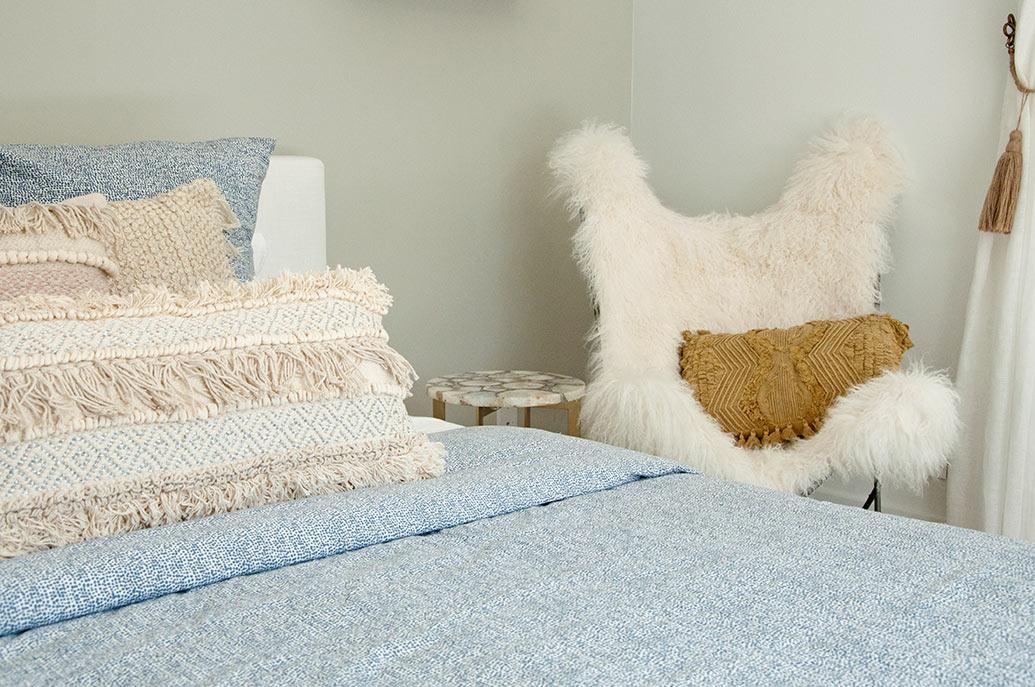 A Teen S Beachy Boho Bedroom Design By Dkor Miami Design Team