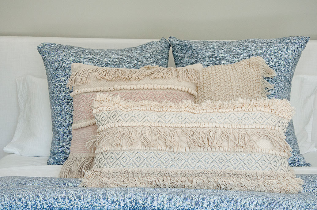 Beachy Boho Pillows