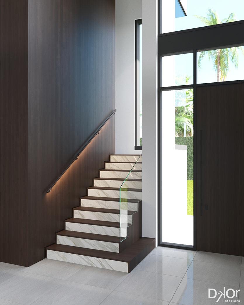Custom Home Interior Design - Stairs Design