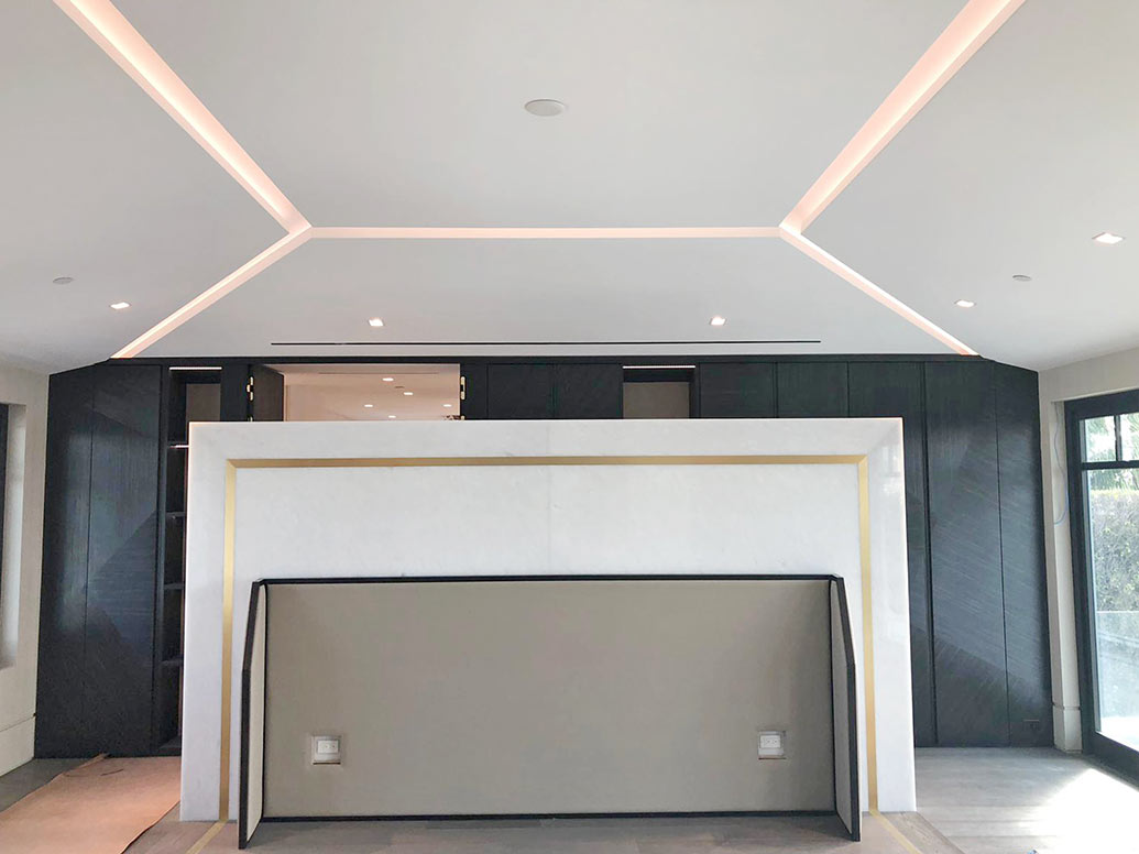 Luxury Interior Details - Master Bedroom Progress