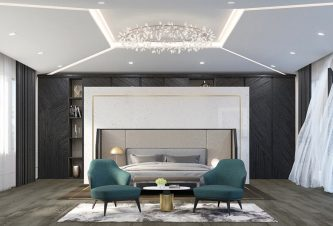Luxury Interior Design - Palm Beach Master Bedroom