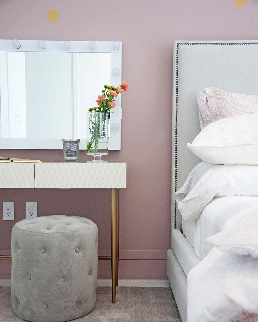 Girls Bedroom Design - Girls Vanity Decor