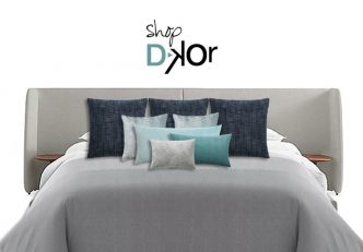 Ideal Bedroom Decor - Throw Pillows Combinations By DKOR Interiors