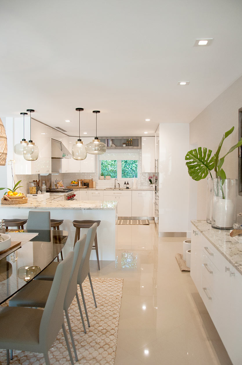 Fort Lauderdale Home Decorating Project - Kitchen