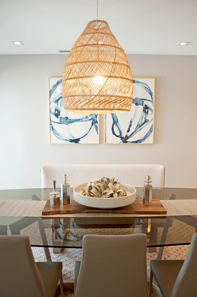 Fort Lauderdale Home Decorating Project - Dining Room