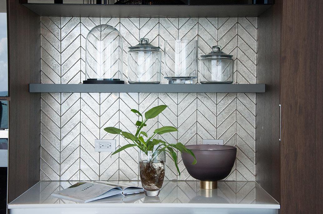 Muse Sunny Isles Condo - Kitchen Tile