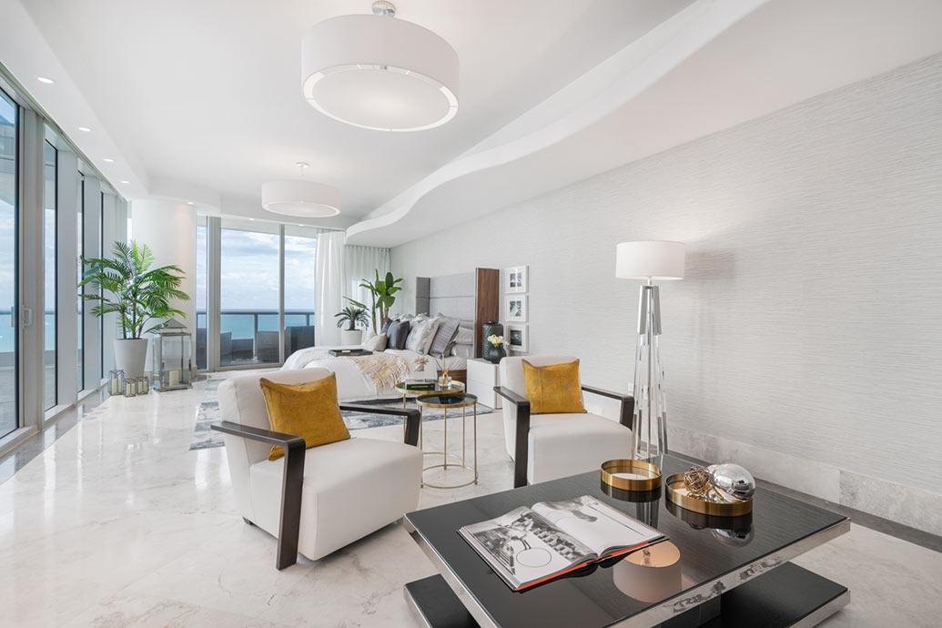 Continuum Miami Beach Condo - DKOR Interiors and Bill Hernandez & Bryan Sereny team
