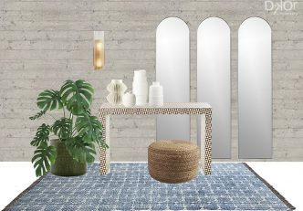 Modern Entryway Idea - Home Decor Selections