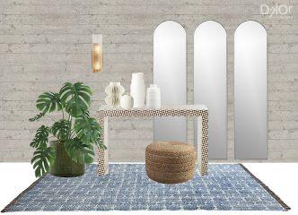 Modern Entryway Idea - Home Decor Selections