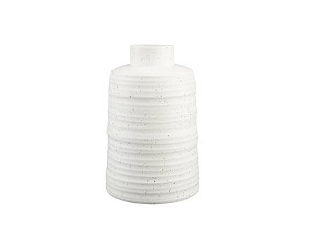 Modern Entryway Decor - White Vase