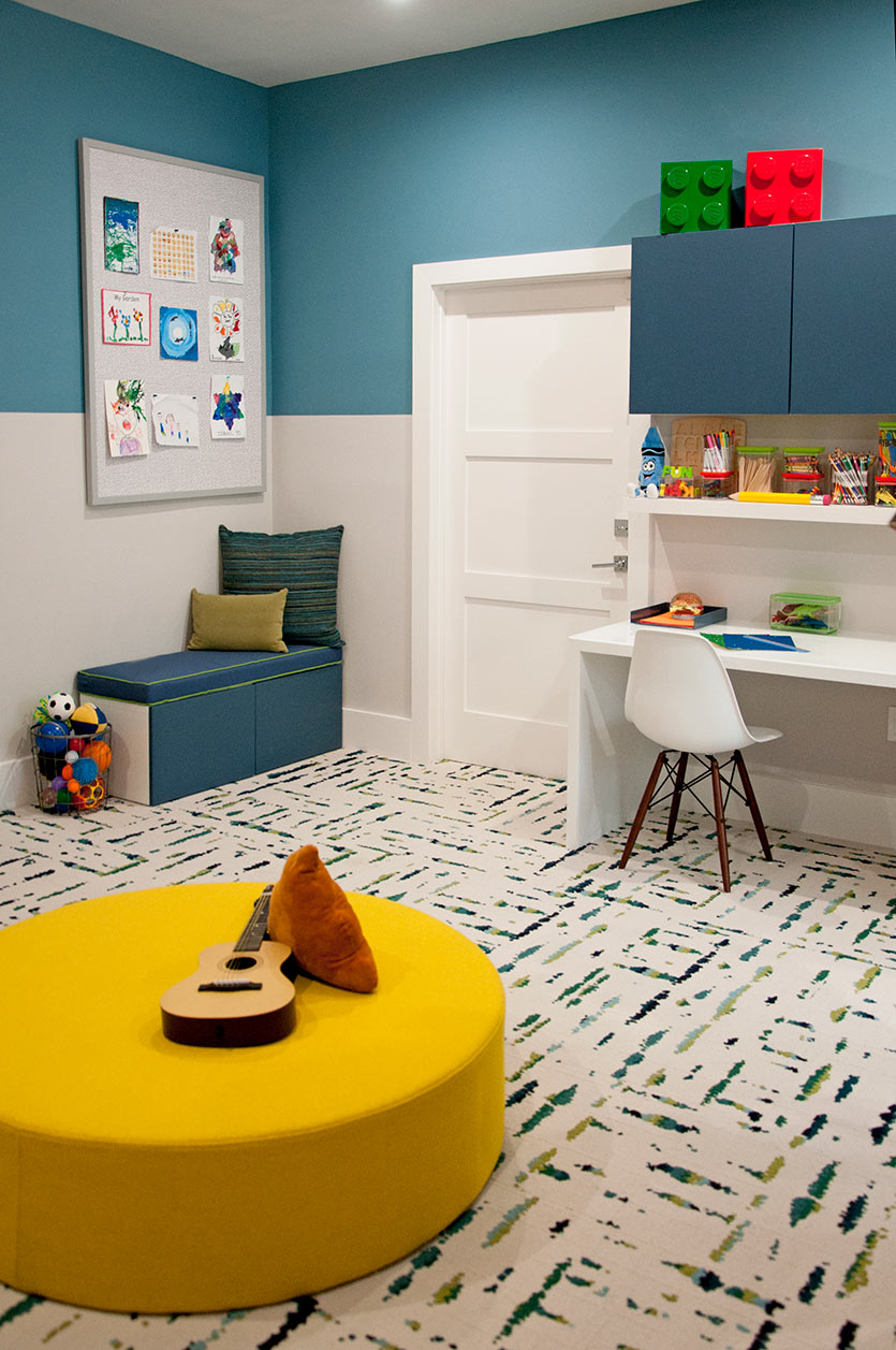 new playroom design by DKOR Interiors