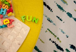Fun Flooring - Creative Playroom For The Whole Family