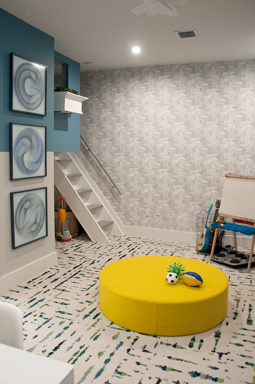 playroom design by DKOR Interiors