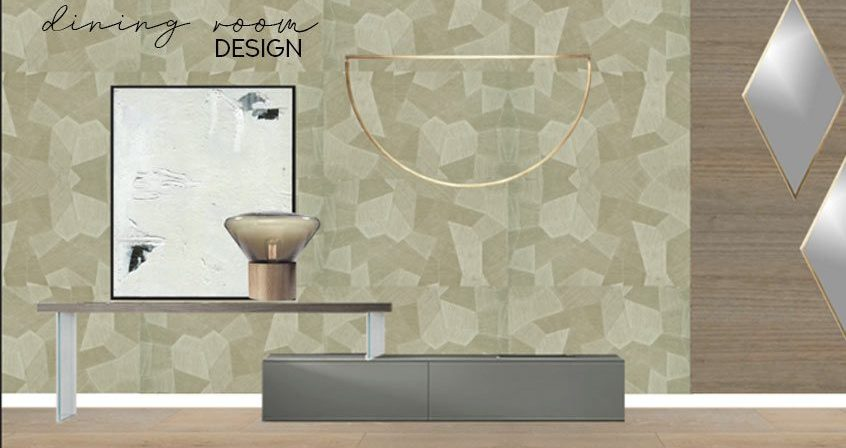 Dining Room Design Intent By DKOR Interiors