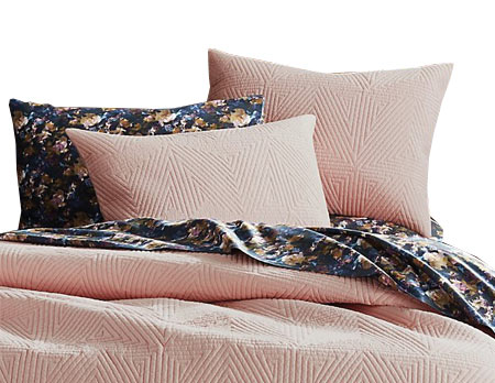 Mother's Day Gift Guide - CB2 Pink Bedding