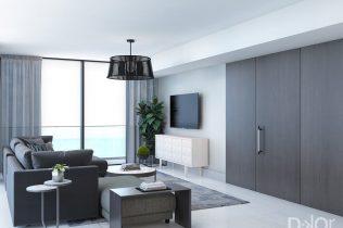 Living Room Design By DKOR Interior Design Team
