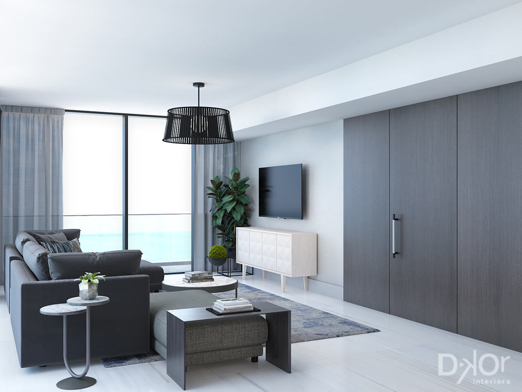 Sabbia Beach Condo Interior Designs By Dkor Interiors