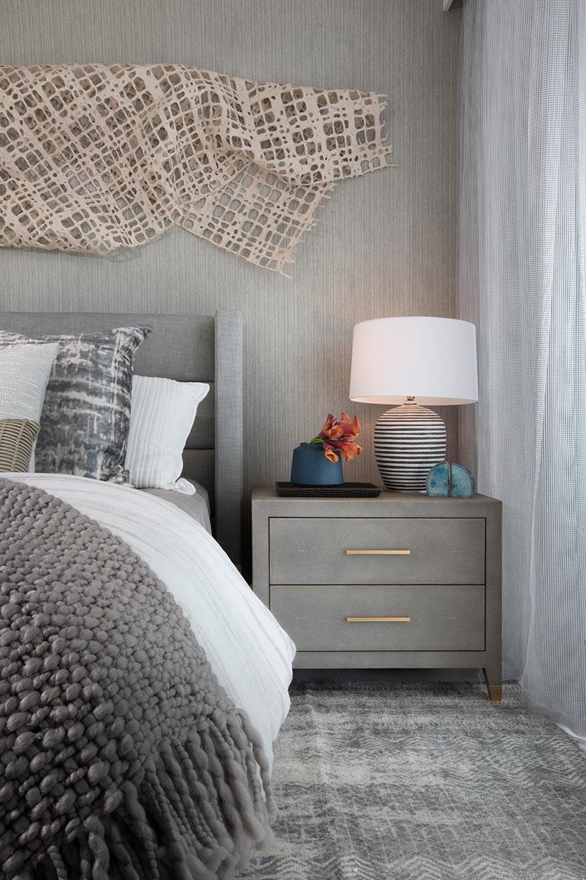 Guest Bedroom Interior Details - Residential Interior Design