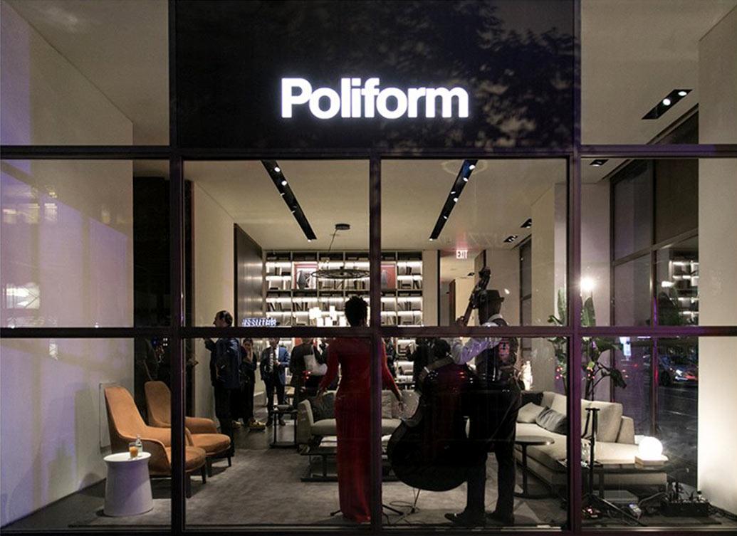 ICFF NYC 2019 Events - Poliform USA