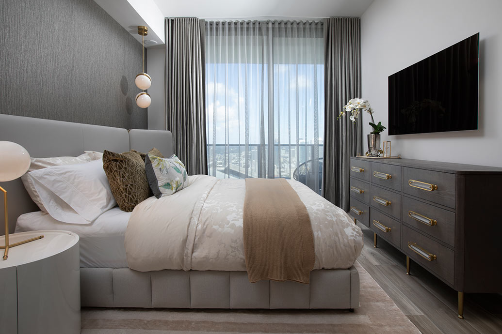 Luxe Brickell Apartment Design by DKOR Interiors