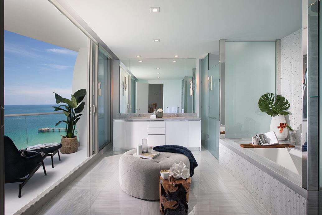 Oceanfront Bathroom Decor