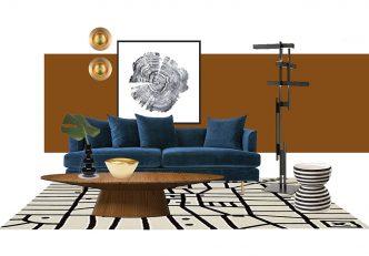 Mid-Century Living Room Idea