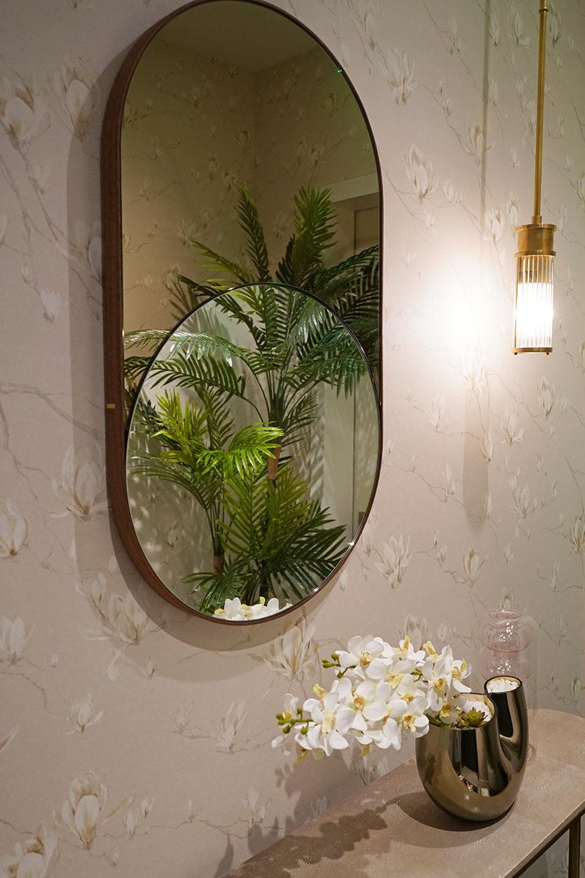 Brickell Condo - Foyer Interior Design Details