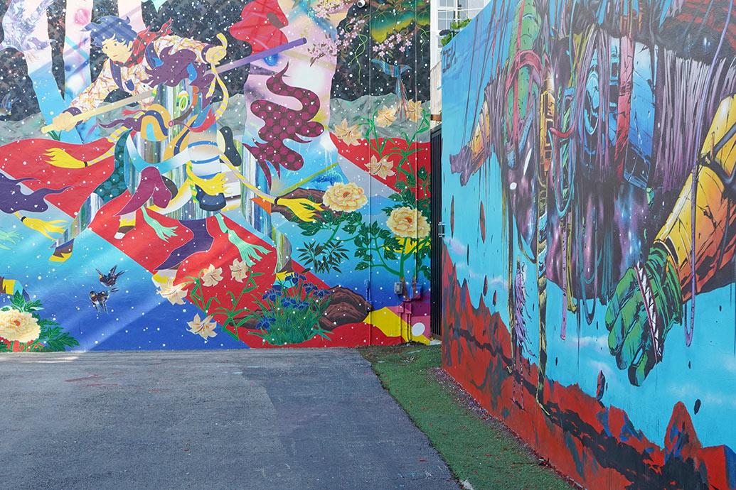 Colorful Walls Around Wynwood Miami - Design Inspiration