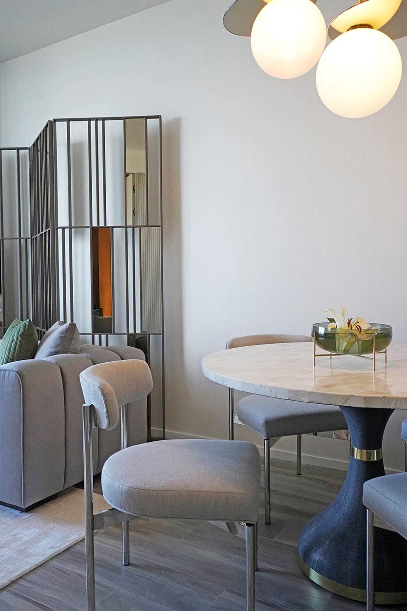 SLS Lux Brickell Condo - Interior Design