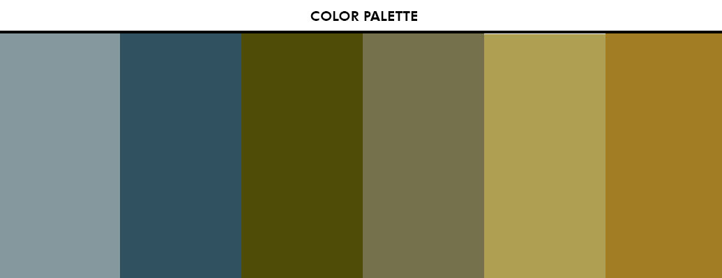 Auberge Beach Condo Accent Colors