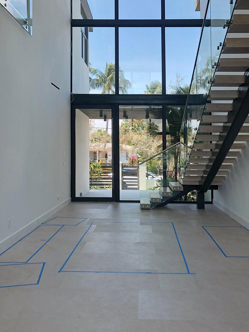 Interior Designers Site Visit - Fort Lauderdale Home