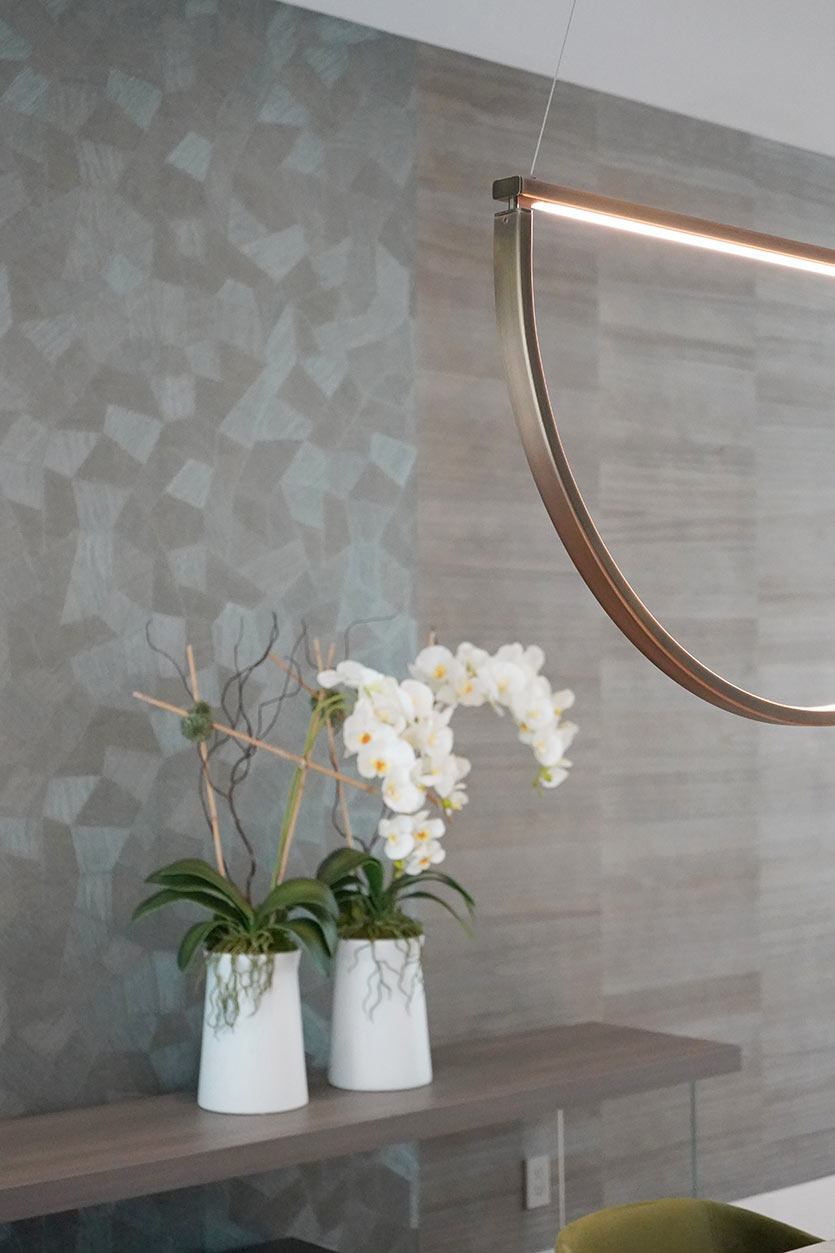 Modern Dining Room Design - Chord Pendant