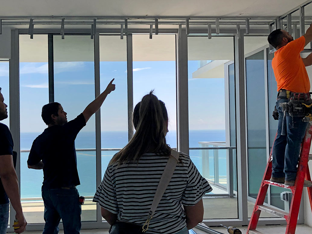 Fort Lauderdale Interior Designers During Site Visit