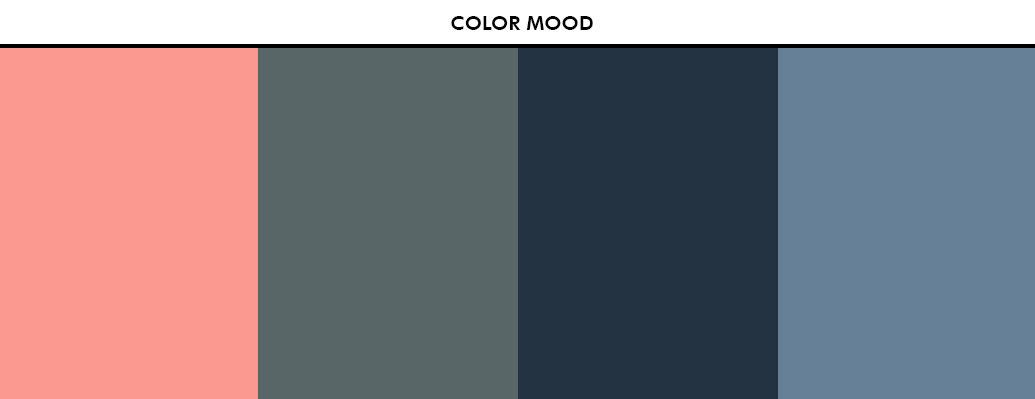 Modern Tropical Home Design - Color Mood