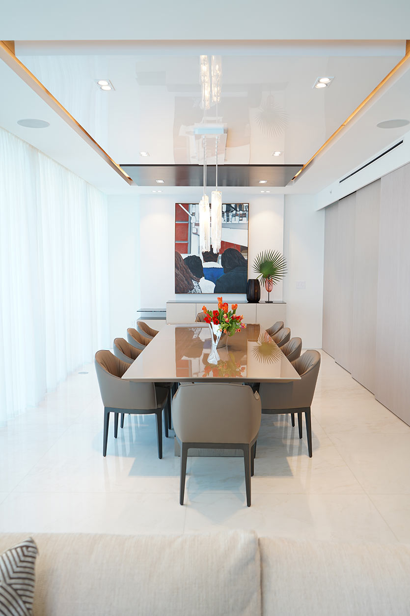 dining space by DKOR Interiors