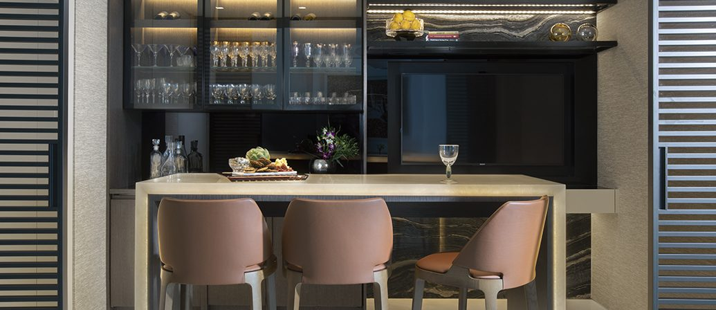 Modern Home Bar Design By DKOR Interiors