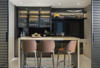Modern Home Bar Design By DKOR Interiors