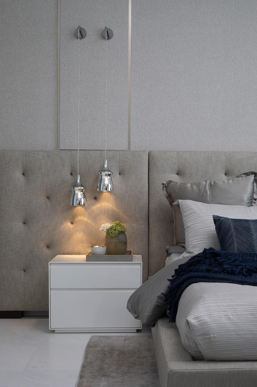 Decoração com papel de parede - Bedroom Design