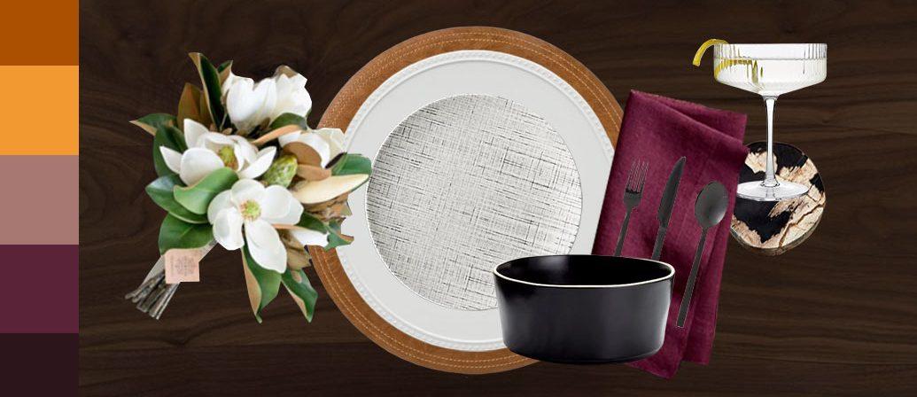 Stylish Thanksgiving Table Setting Options