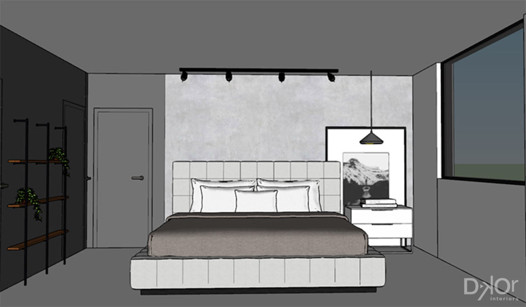 Teen Bedroom Design Intent