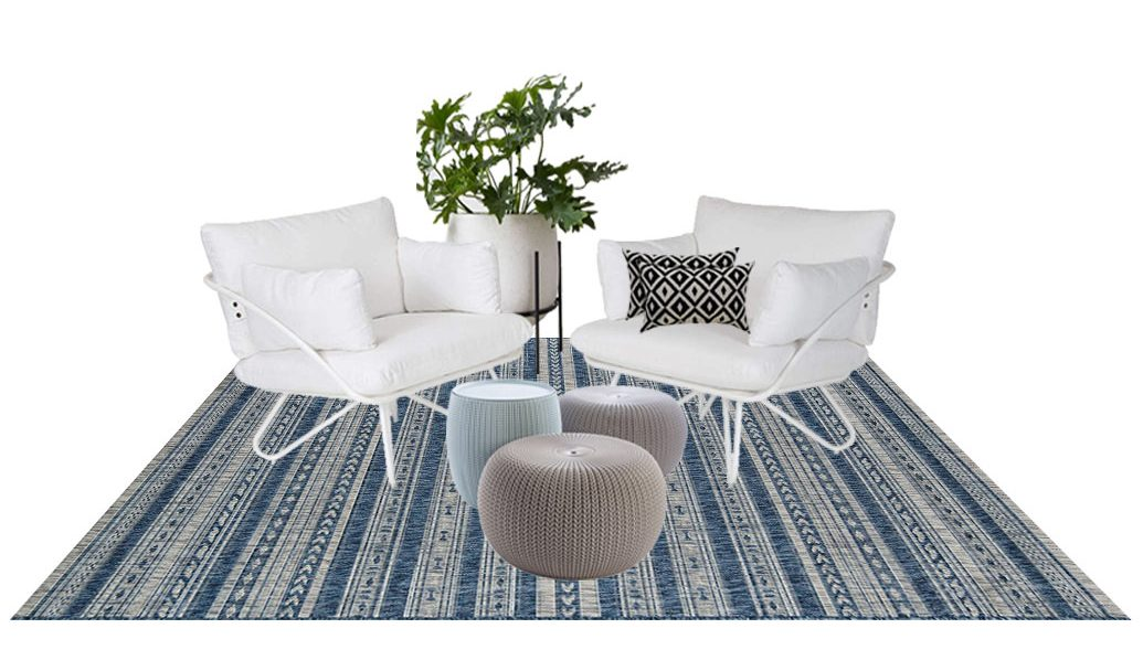 Creating an outdoor space with DKOR Interiors's Selections