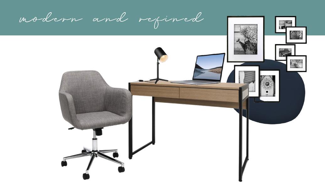 Modern Home Office Setup Idea