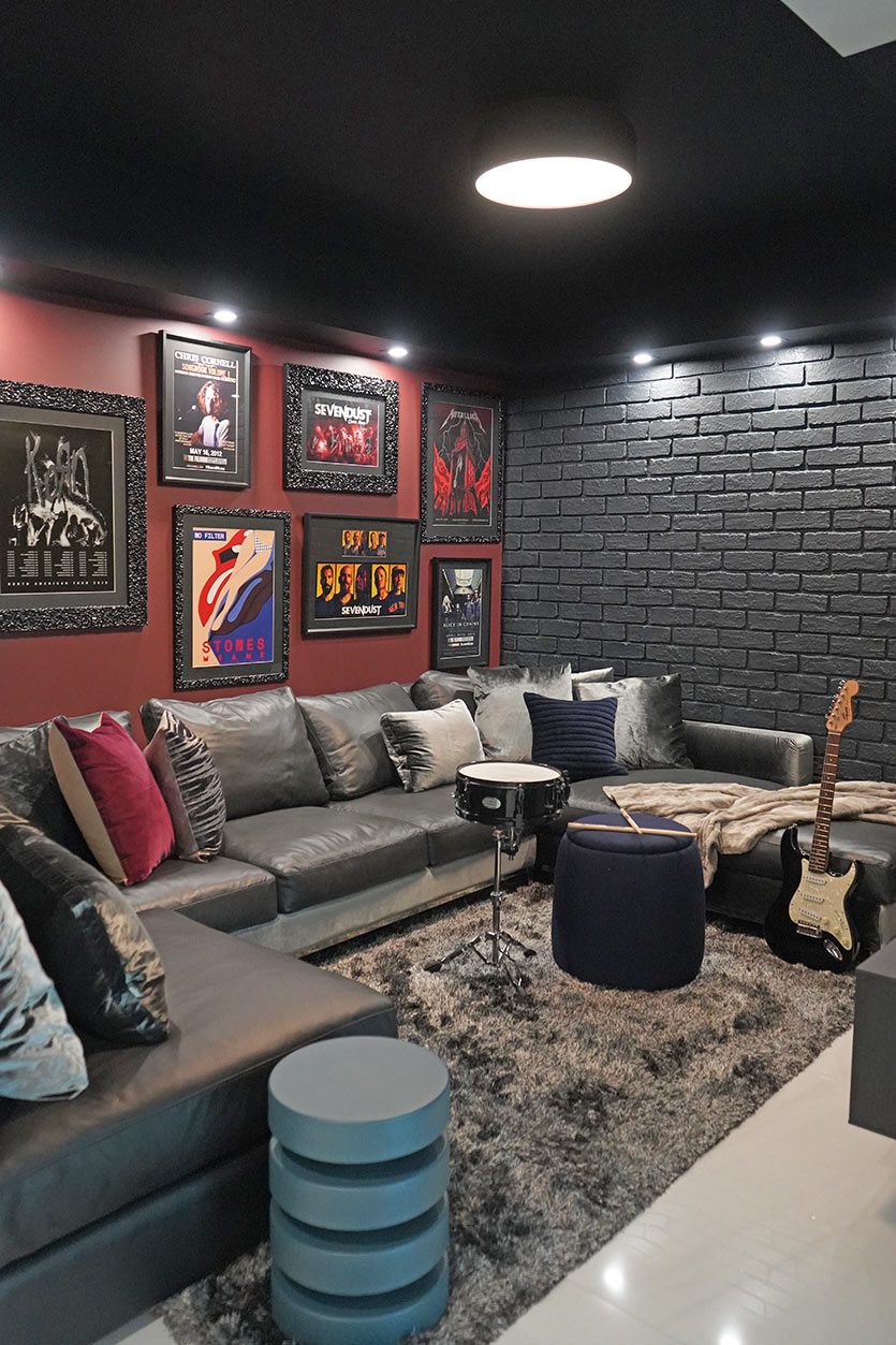 Rock 'n' Roll Interiors by DKOR Interiors