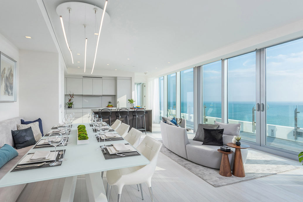 Miami-Based Real Estate Staging Services / The Edition Penthouse