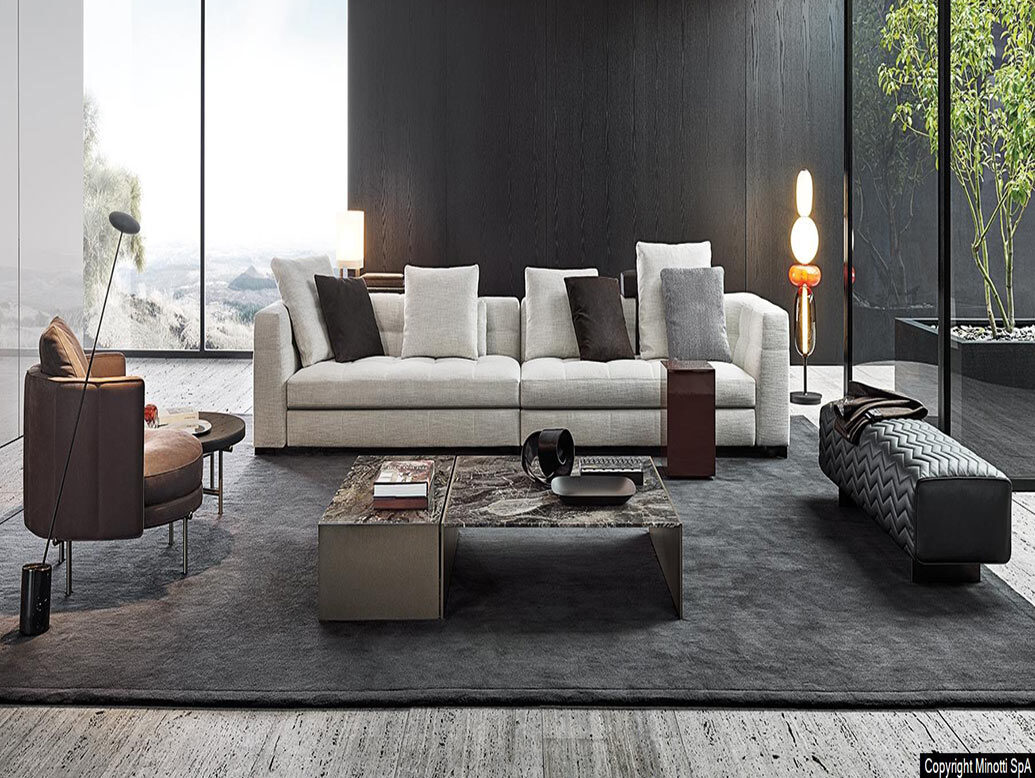 Minotti Furniture 2020 Collection Picks for Residential Interior Design