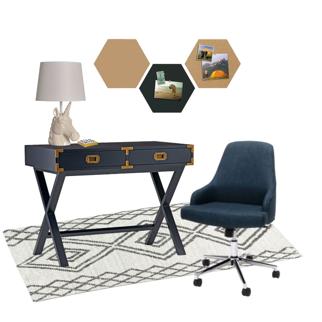 kids desk area ideas by miami designers