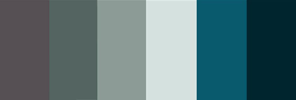 Florida Keys Design Color Palette