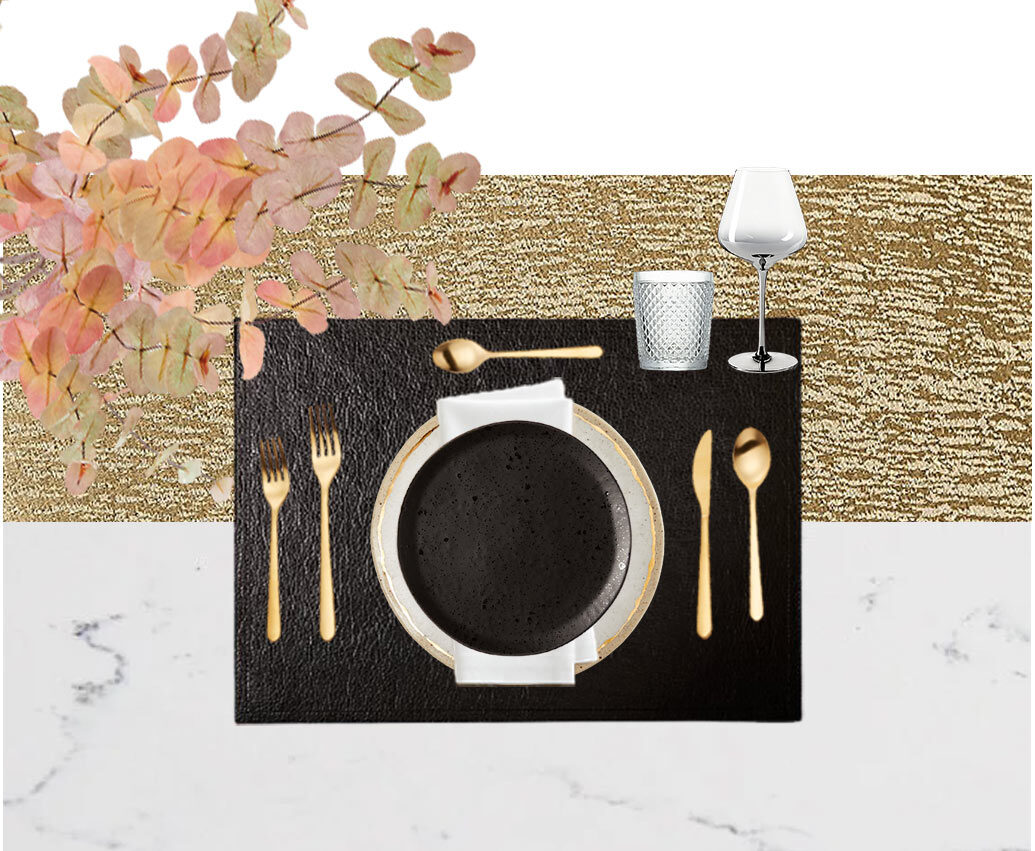 Sophisticated Thanksgiving Table Setting Ideas