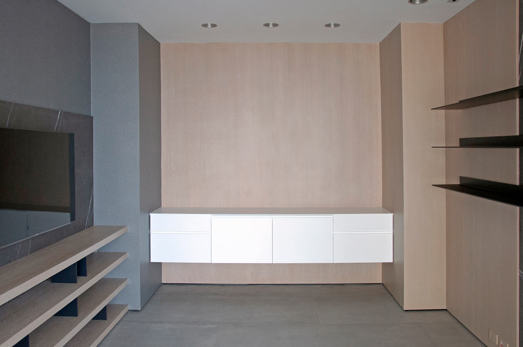 Modern Home Office Design - Materiality