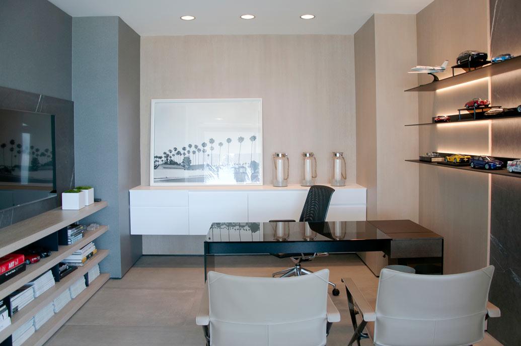 Modern Home Office Design - Office View